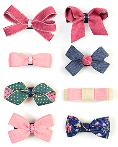 Bow Baby girls hair Clips