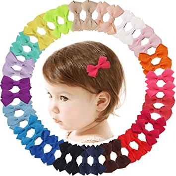Baby Girls Hair Bows with Alligator Clips
