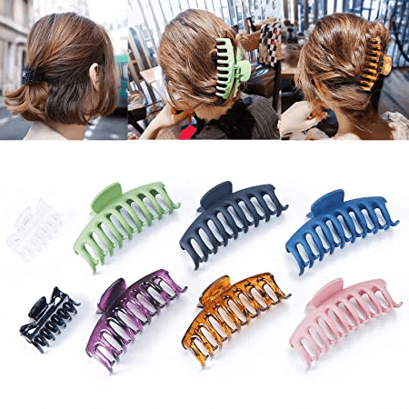 Dialekt Hair Claw Clips for Women