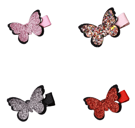 Lovely Metal Snap Hair Pins Multiple Style