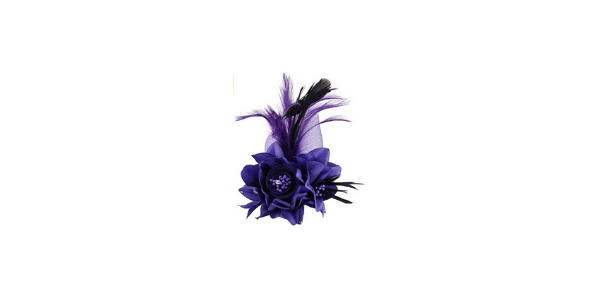 Fascinator Hair Clip Barrette With Flower