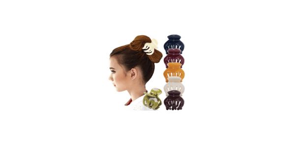 Classic Clamp Jaw Claw Hair Clip Barrette