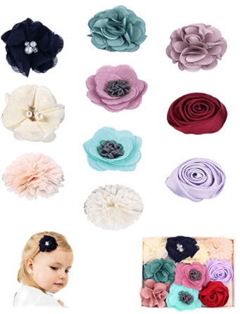 FANCY CLOUDS Baby Girl Hair Clips Bows