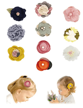 FANCY CLOUDS Baby Girls Hair Clips
