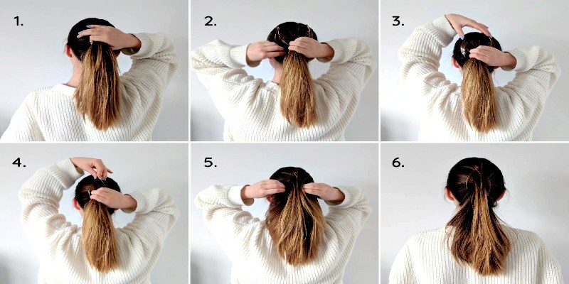 how to use hair clip