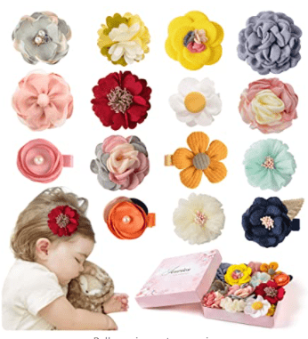 Jesries Store Hair Clips Flowers