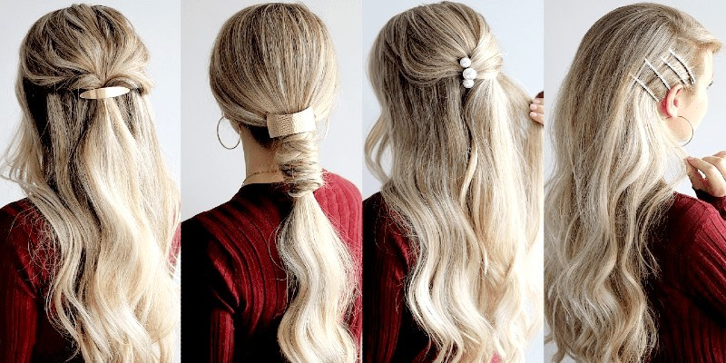 hairstyles with hair clip