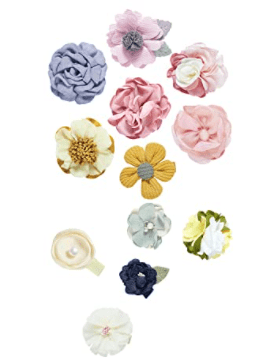 TOPSTHINK Hair Clips Bows Flowers